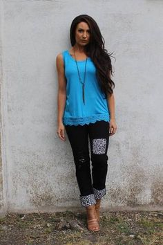 e961af5ae2 Black Boyfriend Jeans with White Leopard Print Pencil Skirt Casual