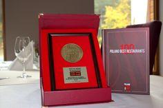 Best of Award of Excellence - dwa widelce w Plebiscycie Poland 100 Best Restaurants