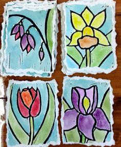 "48 Likes, 1 Comments - Valerie Grace (@valeriegraceprints) on Instagram: ""Pretty ladies . . . . #printmaker #print #printmaking #blockprint #blockprinting #linoprint…"""