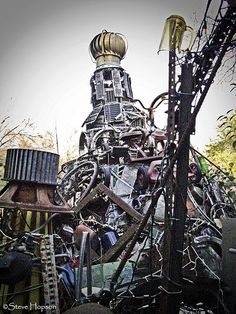 The Cathedral of Junk - an unorthadox tourist attraction