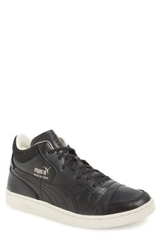 PUMA 'Becker' Leather Sneaker (Men) available at #Nordstrom