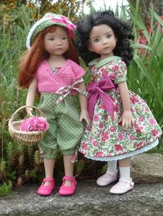 Annie & Tiffany, Little Darlings dolls