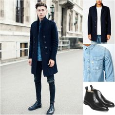 SHOP THE LOOK: Only & Sons - Jacket   Shirt