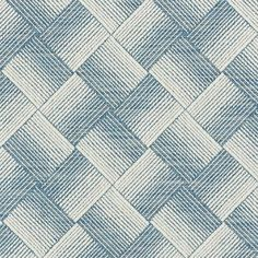 Schumacher Ashberg Performance Fabric (Set of Color: Blue Schumacher Ashberg Performance Fabric (Set of Color: Blue Fabric Birds, Ikat Fabric, Blue Fabric, Fabric Design, Pattern Design, Chinoiserie Motifs, Luxury Flooring, Graphic Patterns, Blue Patterns