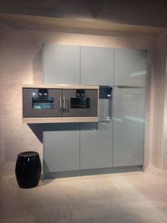 Ocean blue colour with Gaggeau equipments #Gaggenau