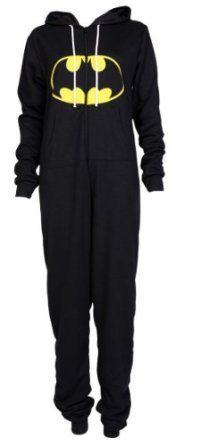 it's a goddamn batman onesie. this is the first thing I've pinned I might actually buy.