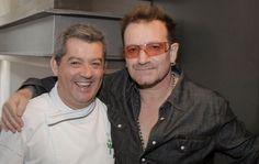 O Bono quis conhecer o Chef