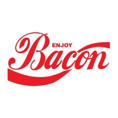 Funny Bacon   Enjoy Bacon Funny T-shirt TShirt at TShirt Bazaar