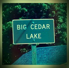 Big Cedar Lake, WI
