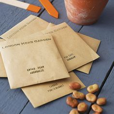 monthly vegetable seed club subscription by london herb garden | notonthehighstreet.com