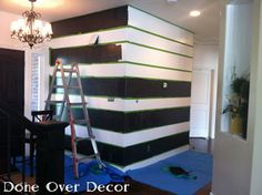 How To | Paint Stripes On A Wall