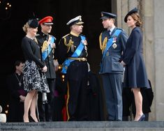 March 2015: The Royals Attend Service of Commemoration at St Paul's Cathedral