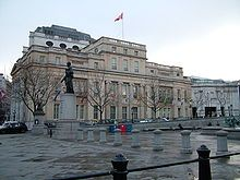 Canada House on Trafalgar Square in London, England. Photo from Wikipedia.