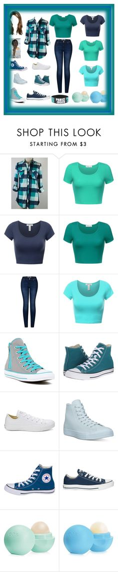 """""""Untitled #562"""" by carman-rodriguez ❤ liked on Polyvore featuring 2LUV, Converse and Eos"""
