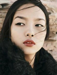 Like her full lips