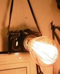 déco authentique - Nouveautés Lampe appareil photo ancien Zenith 70's vintage camera lamp