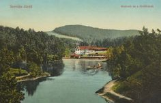 Szováta:Medve tó és a fürdőházak.1916 River, Outdoor, Outdoors, Outdoor Living, Garden, Rivers