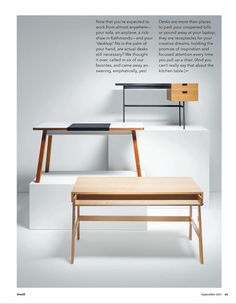 Bluelounge - StudioDesk: A traditional workspace with a modern twist