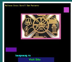 Maltese Cross Scroll Saw Patterns 145602 - The Best Image Search