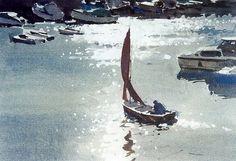 외국작가 소개 - WATERCOLOR - John Yardley (b. 1933, UK)