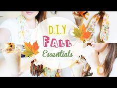 DIY Fall Essentials: DIY Scarf, Drink and Candle  https://www.youtube.com/watch?v=T8WVHQyfuhg&list=UU1XYZTELgx9ojYCsQYyMmdA
