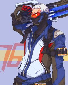 Soldier 76 by memoRinn on @DeviantArt