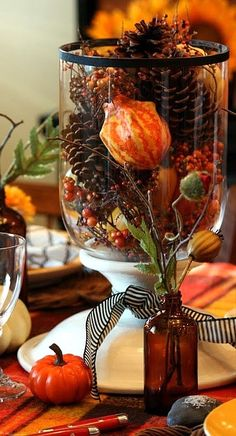 centerpiece for fall....