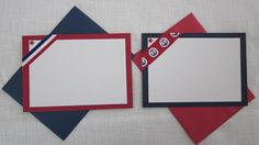 Red White and Blue Note Cards  Set of Eight by SuSuzTreasures, $12.00