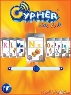 Cypher Kids Club Letter App   Great 3D Interactive Educational Technology