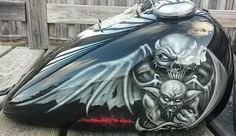 Airbrushed - Tank Demons