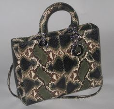 Chistian Dior Python Bag Cost £5 d907b9a945218