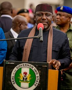 The governor of Imo state Nigeria #kaykluba #purplecrib #imo #kayklubaphotos