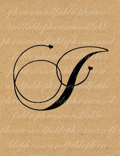 Letter J Hearts 280 Digital Download Alphabet by phraseandfable, $1.99