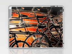 LifeCycle Laptop & iPad Skin by F Photography and Digital Art - $25.00
