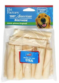 Pet Factory 74162 33 12 Beefhide Mini Rolls Made in USA ** Find out more about the great product at the image link.