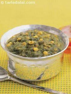 This traditional Sindhi recipe is a good combination of leafy vegetables with dal which provides plenty of calcium, protein, iron and vitamin A. Relish it with steamed rice or any kind of roti.