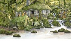 I adore David Wyatt's illustration work <3 http://www.davidwyattillustration.com/picture.html