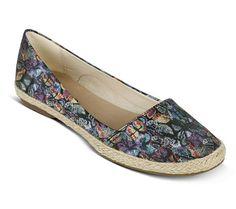 Espadrille de tecido com estampa borboleta | Sapatilhas | Bottero Calçados