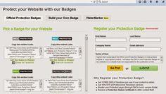 cara proteksi blog dengan dmca