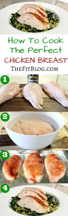 If you follow this easy guide on how to cook the perfect chicken breast, you will never again have to chew your way through a dry and tasteless chicken breast to get all the good protein you want. Give it a try!