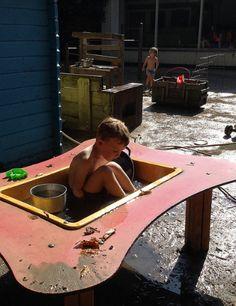 Da's pas een vet modderbad! Vet