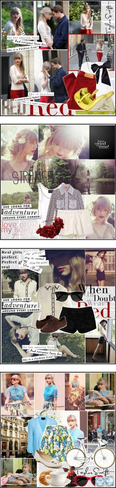 """""""Taylor Swift."""" by laurenbcj ❤ liked on Polyvore"""