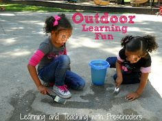 Outdoor learning fun with a purpose