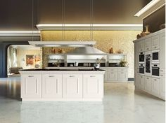 Fitted kitchen with island GIOCONDA DESIGN