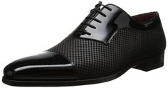 Amazon.com: Magnanni Men's Tristan Tuxedo Oxford, Black, 7 M US: Shoes