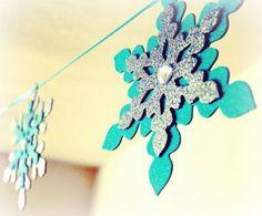 #frozenparty Festa de aniversário com o tema Frozen