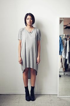 A super simple oversized tee. I want 5 of these!