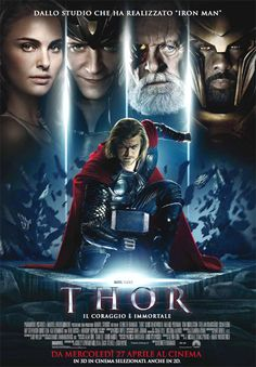 """Thor"" Un film di Kenneth Branagh. Con Chris Hemsworth, Natalie Portman, Tom Hiddleston, Stellan Skarsgård, Colm Feore. continua» Azione, durata 130 min. - USA 2011."