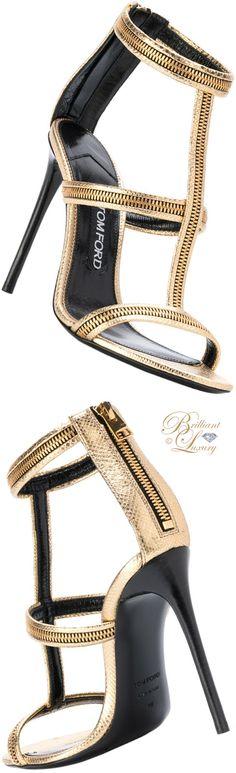 Brilliant Luxury ♦ Tom Ford zip sandal