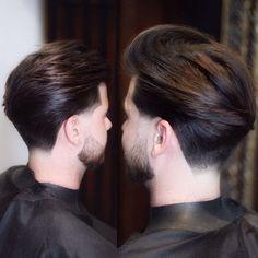 Classic Mens Hairstyles, Mens Hairstyles Fade, Haircuts For Men, Shot Hair Styles, Hair And Beard Styles, Long Hair Styles, Beckham Hair, Medium Length Hair Men, Gents Hair Style